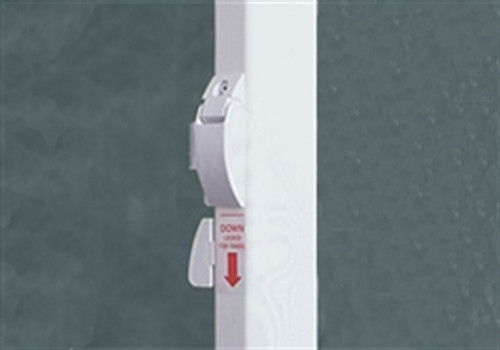 Fiesta/Spirit Awning Arm Set, Universal Straight Sides,  Polar White