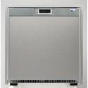AC/DC Refrigerator+Freezer with Stainless Steel Door, 1.7 cf