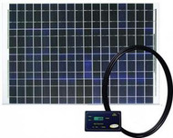Large Solar Charging Kit - Wattage | Amps: 50W | 2.9a