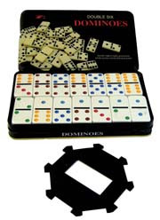 Domino Set with Hub