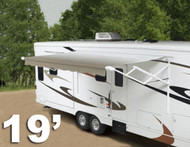 19' 12-volt Travel'r RV patio awning, complete
