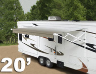 20' 12-volt Travel'r RV patio awning, Complete