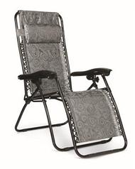 Zero Gravity Chair, Black Swirl