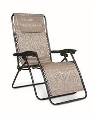 Zero Gravity Wide Reclining Chair, Tan Fern