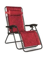 Zero Gravity Wide Reclining Chair, Red Swirl