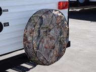 """Camouflage Spare Tire Cover, Size J - 27"""""""