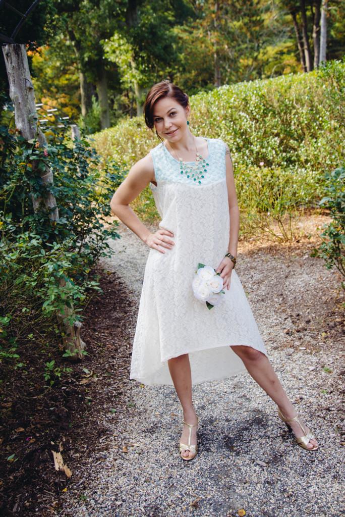Enchanting Mint Wedding Palette Lace Bridesmaids Dresses