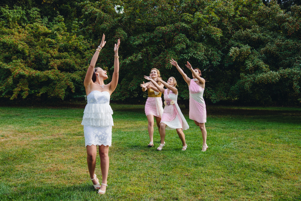 Dreamy Pink Wedding Palette Bridesmaids Dresses