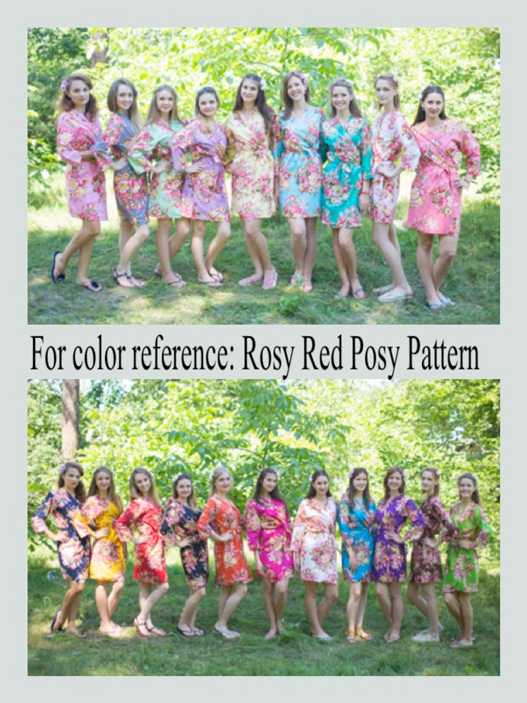 Rosy Red Posy Color Swatch