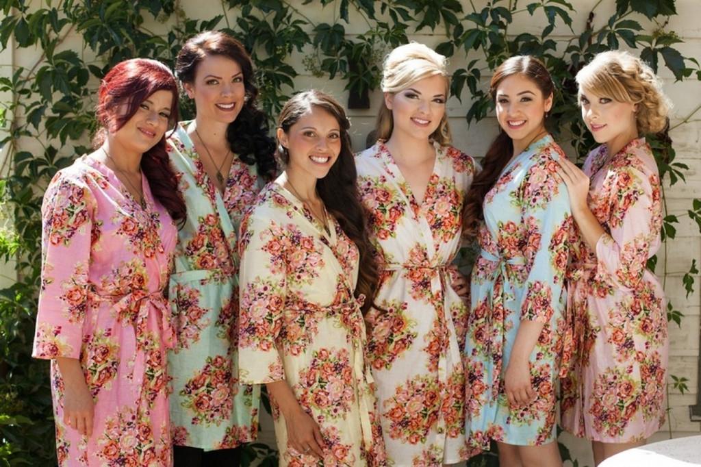 Shabby Chic Bridesmaids Robes