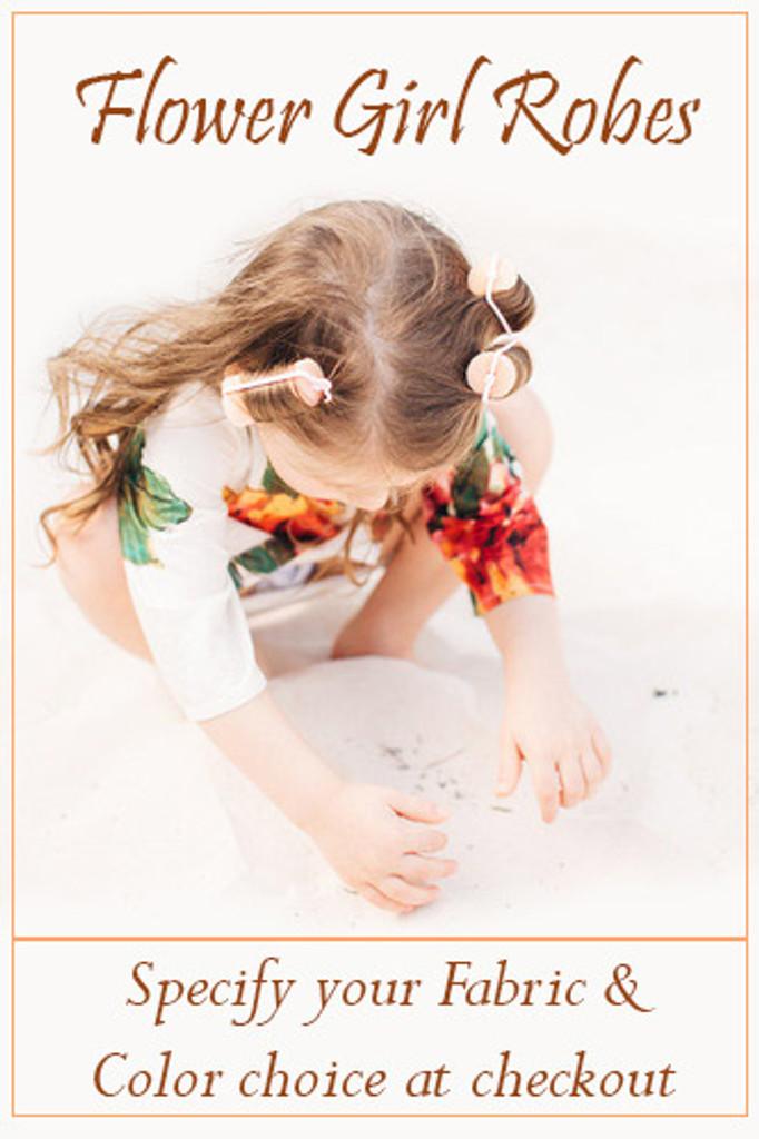 Flower Girl Robe