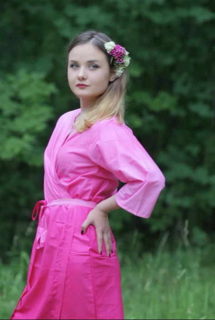 Assorted Pink Mismatched | SilkandMore Robes