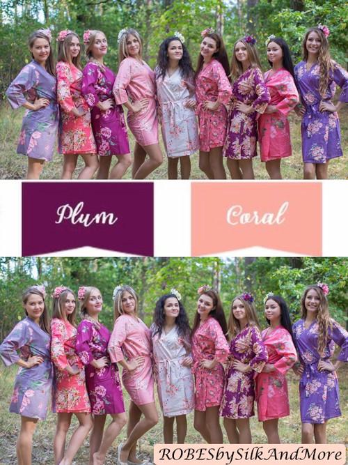 Coral Echo, Lilac Gray and Rose Quartz Wedding Colors