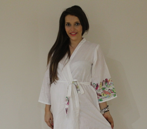 Little Chirpies Maternity Knee Length Robe