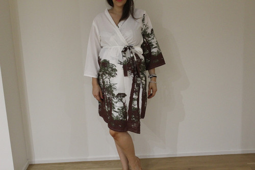 Tree of Life Maternity Robe