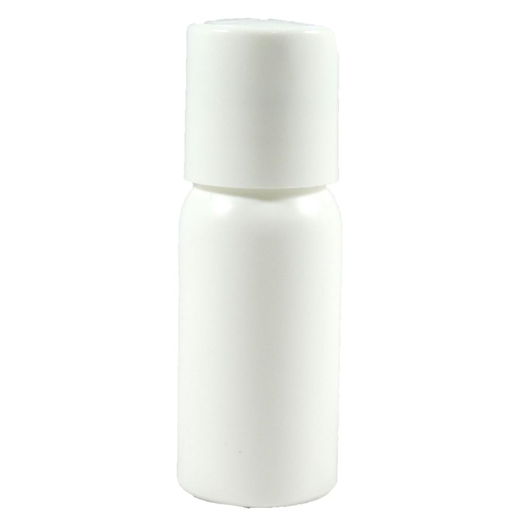 1 oz Press Top White Bottle