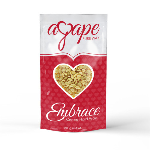 Agape Embrace - Creme Hard Wax (No Strip) 800g