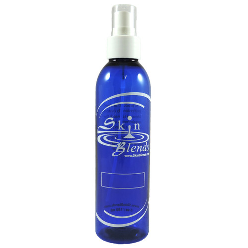 6 oz Spray Top Blue Bottles