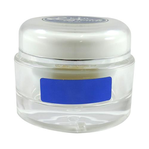 50 ml Acrylic White/Clear Double Wall Jar
