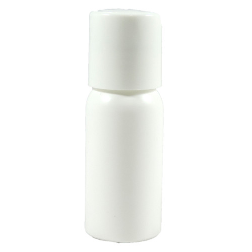 1 oz Press Top White Bottle