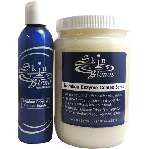 Bamboo Enzyme Combo Scrub 32oz