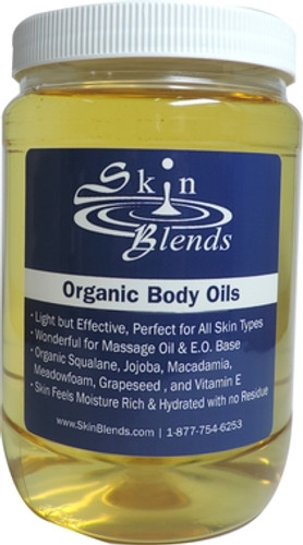 Organic Body Oils, 32 oz