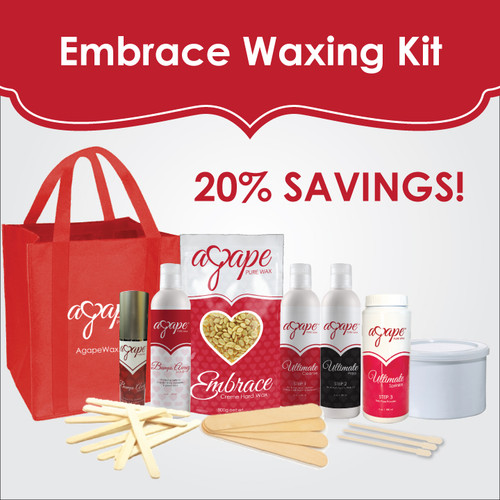 Embrace Waxing Kit