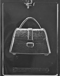 2 Piece mold used to create a chocolate purse.