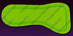 Scalloped Insole