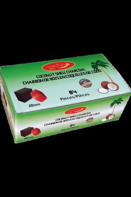 Starlight Coconut Shell Cubes - 84 pcs