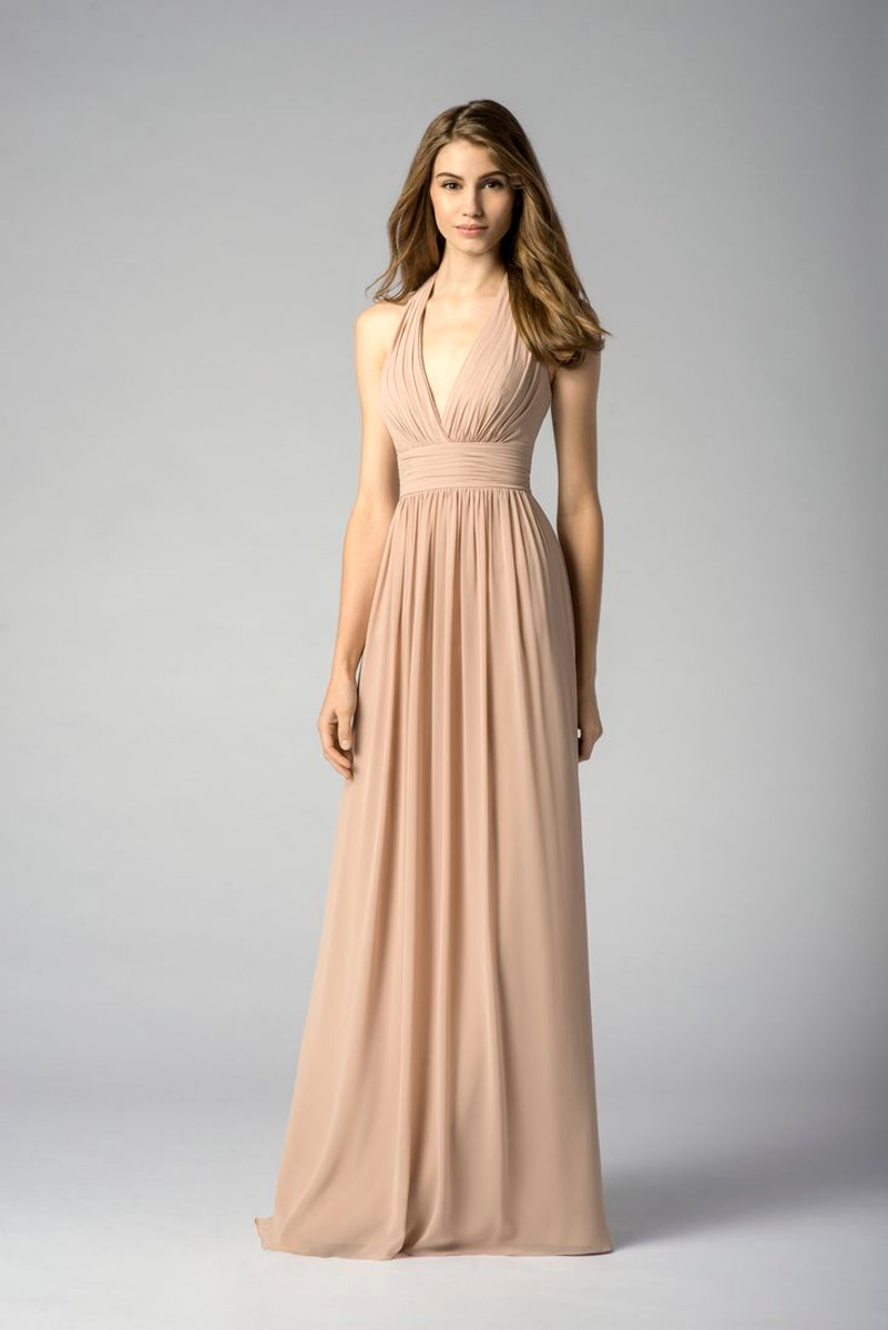 Watters bridesmaids dress 7547 blush bridal ombrellifo Choice Image