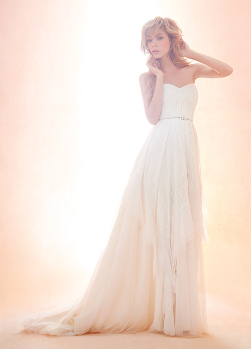 Blush by Hayley Paige Wedding Dress Lotus