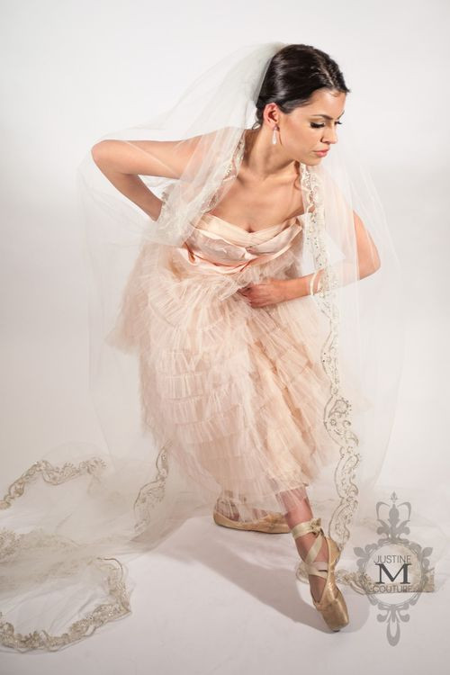 Justine M Couture Paisley Veil