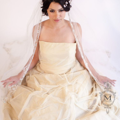 Justine M Couture Wild Lilac Veil