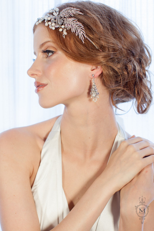 Justine M. Couture Armonde Earrings