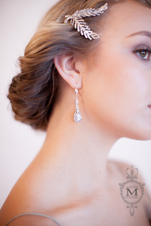 Justine M. Couture Iris Earrings
