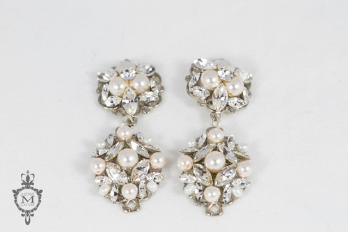 Justine M. Couture Silver Birch Earrings