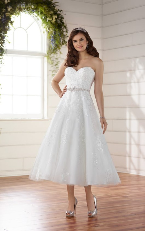 Short wedding reception dresses blush bridal essense of australia wedding dress d2231 junglespirit Choice Image