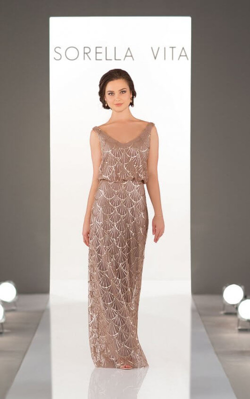 Sorella Vita Bridesmaid Dress 9062