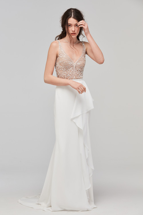 Willowby Wedding Dress Skirt Cielo
