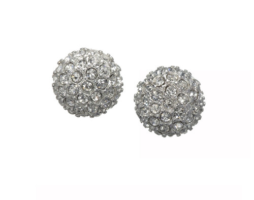 Blossom Stud Crystal Earrings