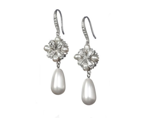 Grace Pearl Drop Earrings