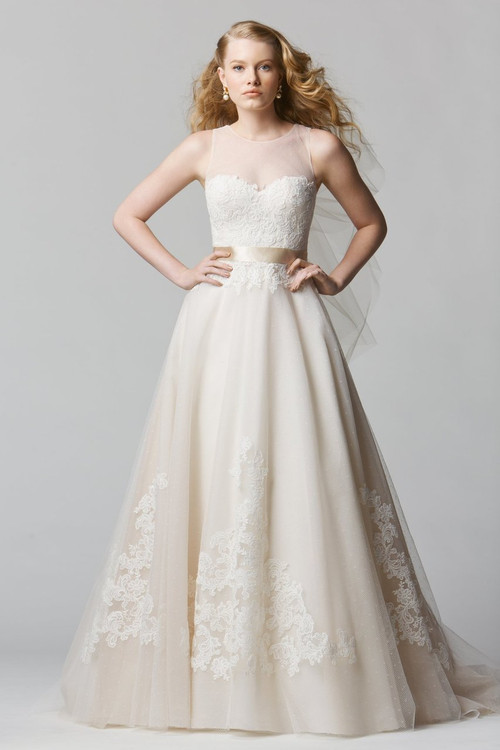 Wtoo by Watters Lace Wedding Bellavista (12608)
