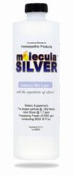 Molecula SIlver comes in 16, 32 and 128 ounces.