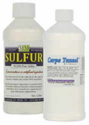 Carpal Tunnel Kit: Includes an 8 ounce bottle of SULFUR and an 8 ounce bottle of CARPA-TUNNEL