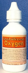 Stabilized Oxygen comes in a two ounce bottle.