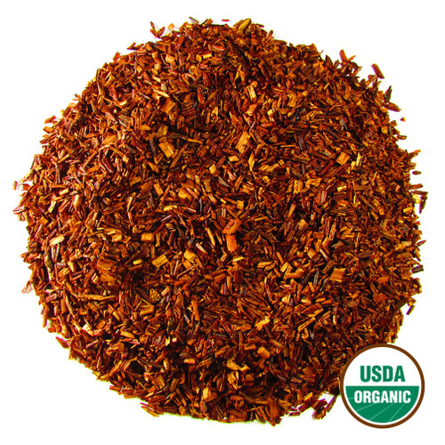 South African Red Organic Rooibos Red Tea loose in 6oz and 12 oz  - Spa Quality