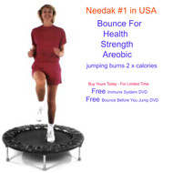 Needak USA Rebounder Softbounce (shown with optional spring cover)