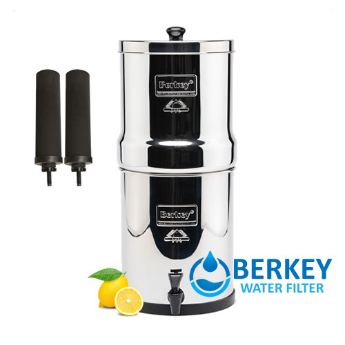 Berkey available all sizes, black filtering system filters, and optional fluoride reduction filters, optional accessories available.
