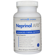 Neprinol AFD, Fibrin Defense, Inflammation Joints, Circulation 500mg, 90 capsules